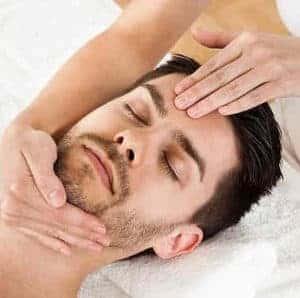 Испанский массаж лица для мужчины