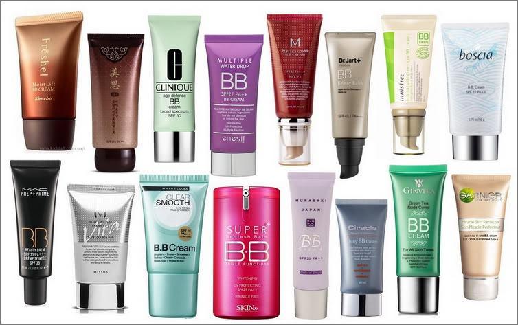 Разнообразие bb кремов