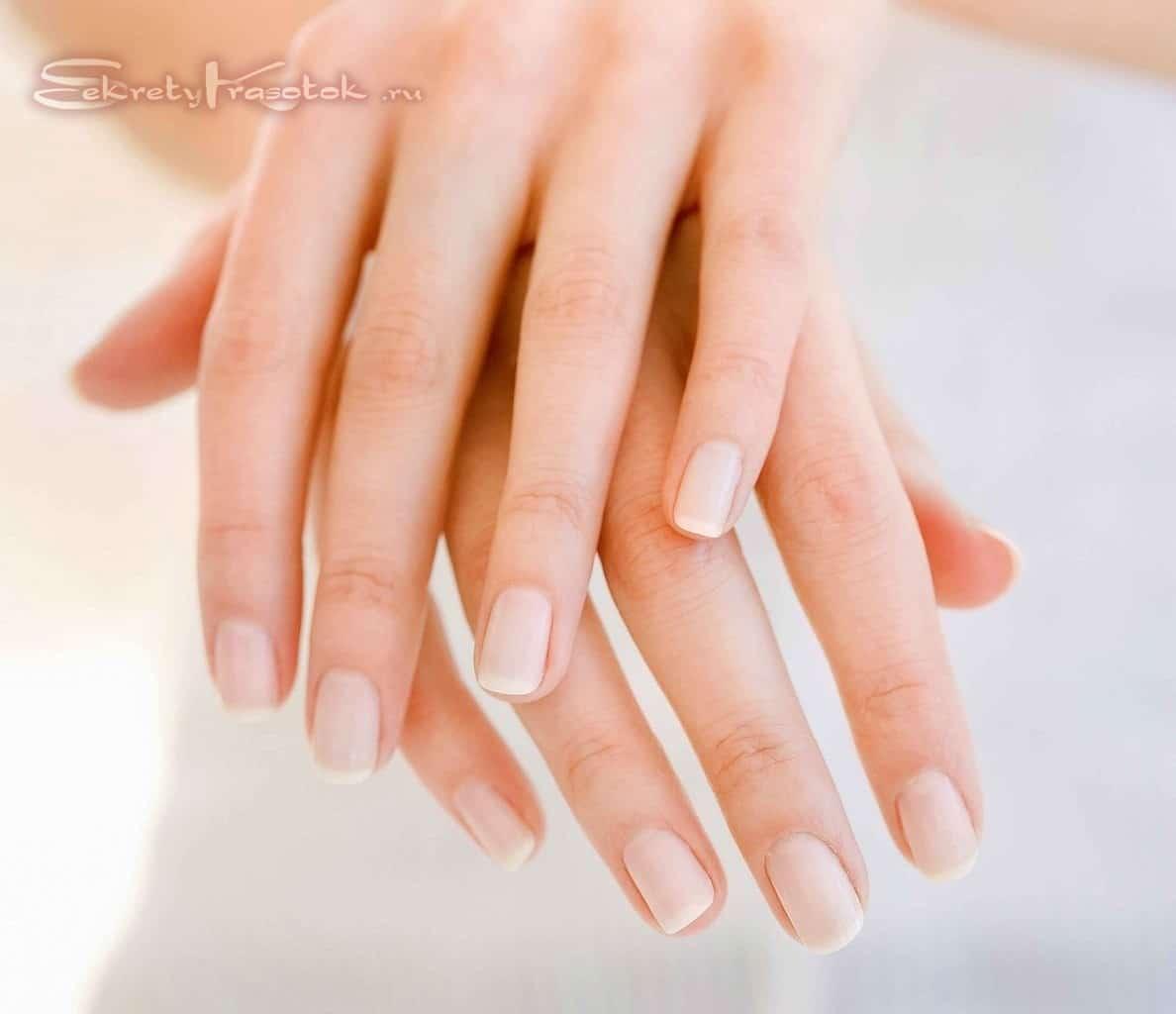красивые и здоровые ногти - эффект от применения ванночек