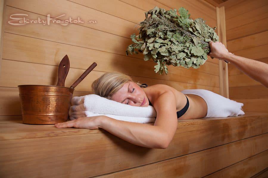 польза бани для кожи
