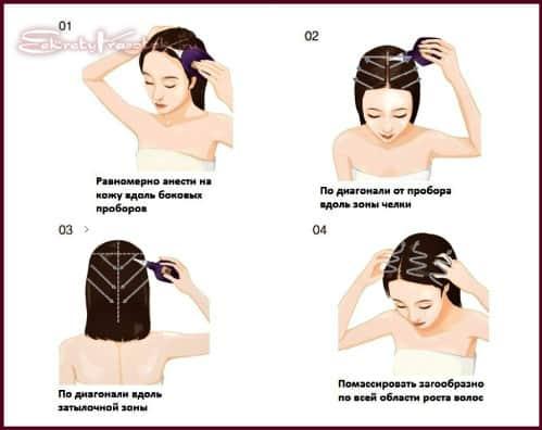 способ применения никотиновой кислоты для волос