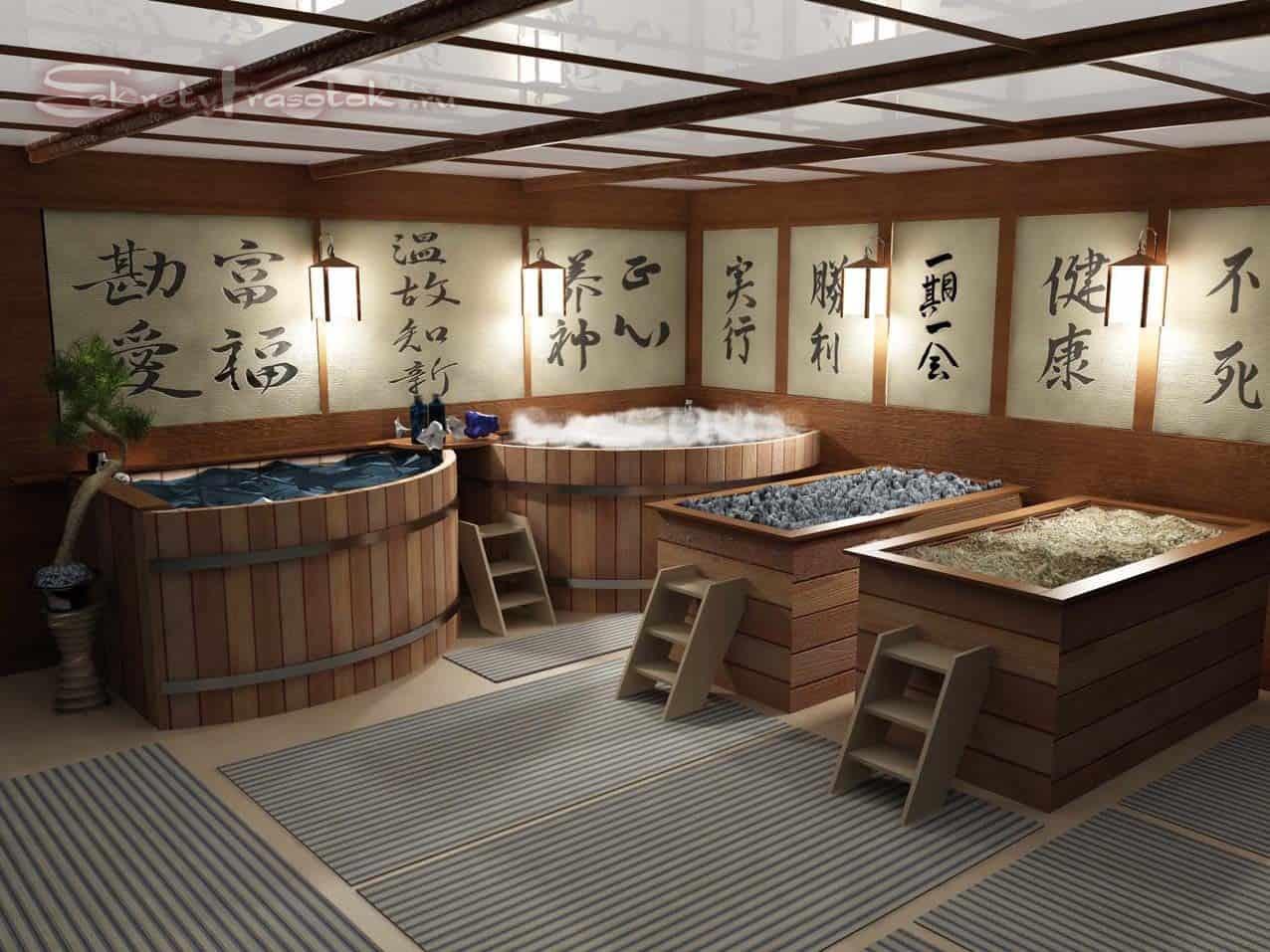 японская баня - офуро