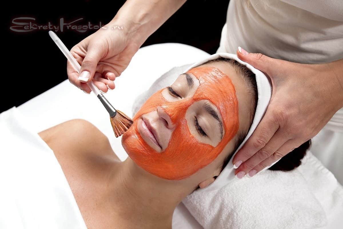 фруктовый пилинг для лица против шелушения кожи