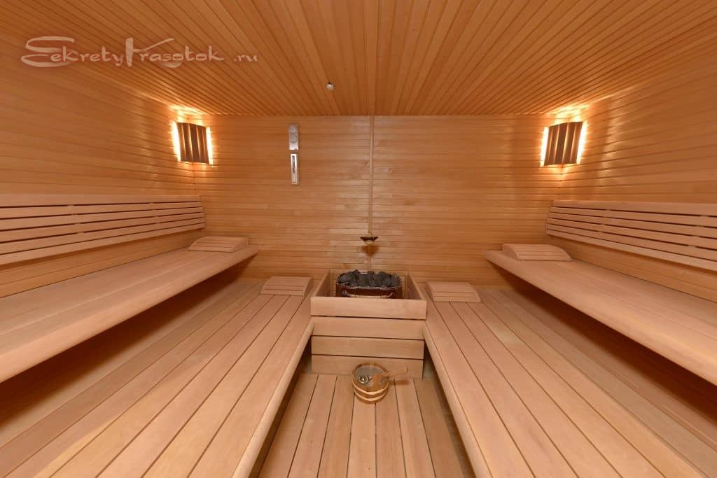 суховоздушная баня