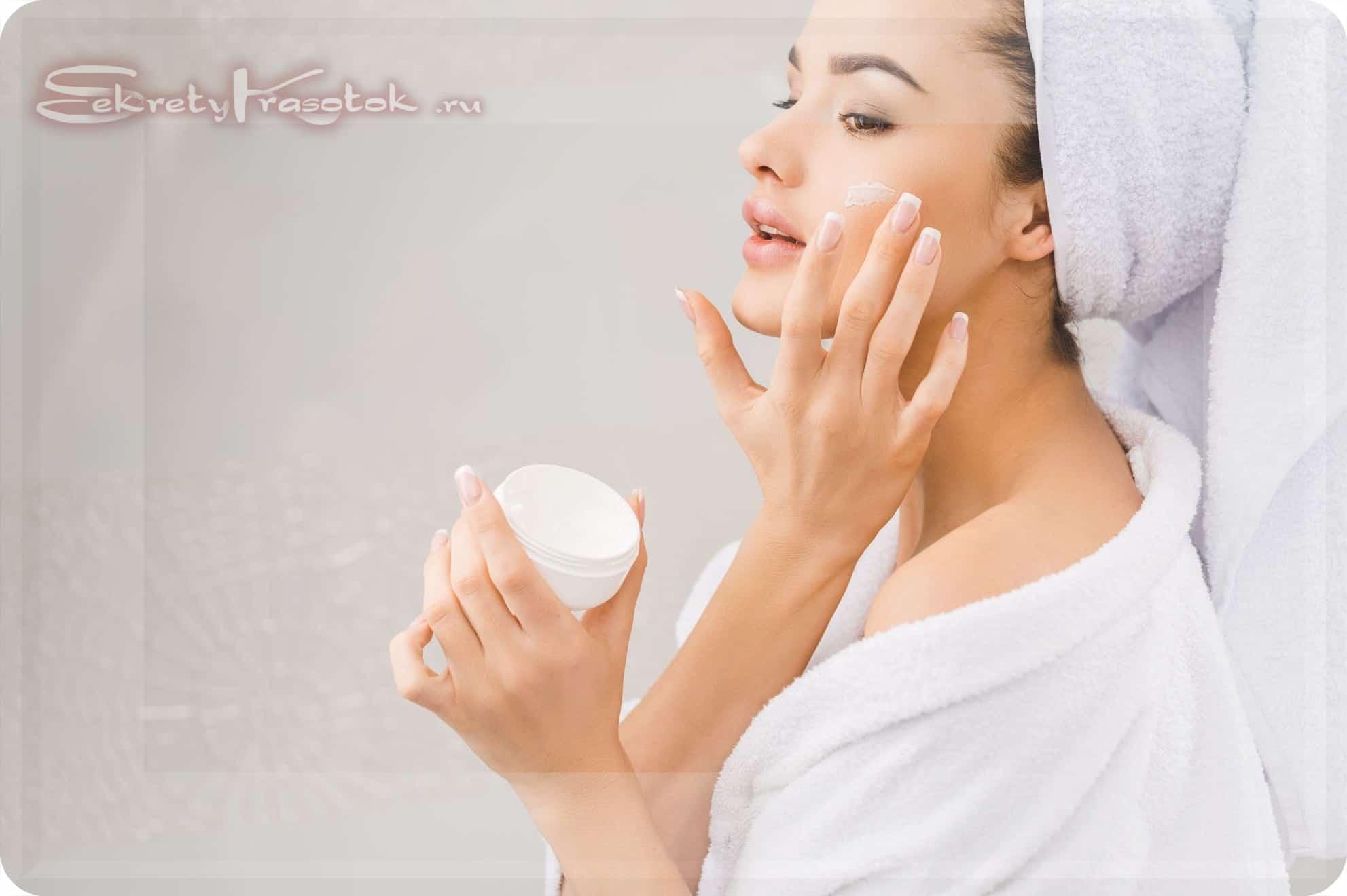 кремы и мази для восстановления кожи после пилинга