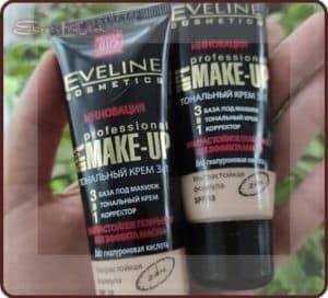 Eveline Инновация 3 в 1 Art Professional Make up — легкий тональный крем на каждый день