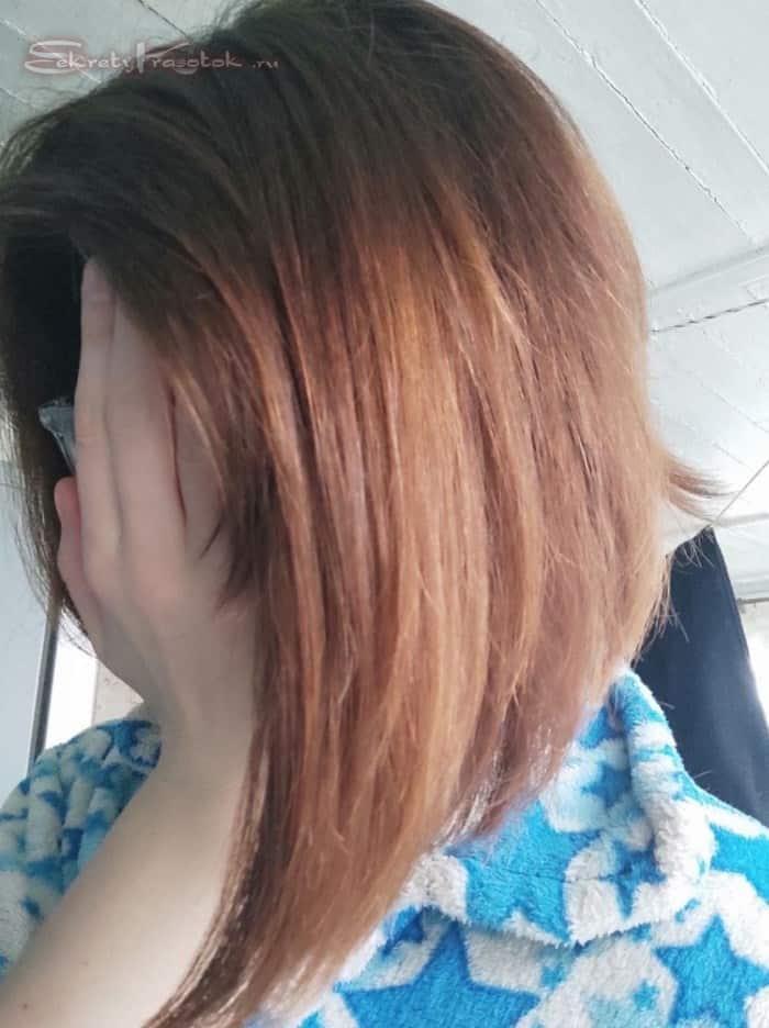 эффект от маски Dr. Sante Coconut Hair