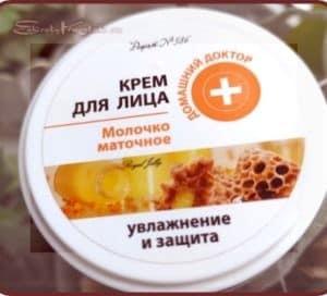 Мой зимний спасатель: крем для лица с пчелиным маточным молочком от ТМ «Домашний доктор»