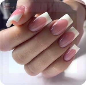 формы ногтей четкий квадрат