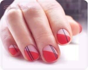 короткие формы ногтей