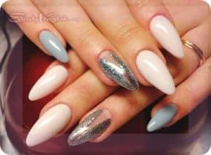 миндалевидные формы ногтей