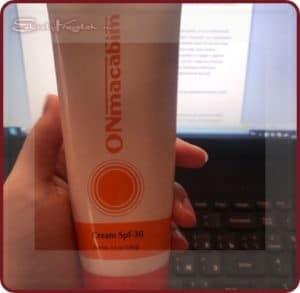 Солнцезащита круглый год с ONmacabim крем PR для лица, шеи и области декольте
