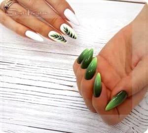 формы ногтей разные руки