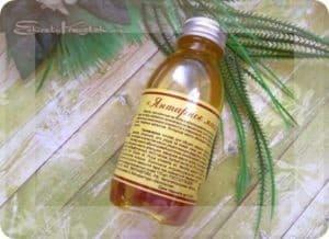 Натуральное янтарное массажное масло